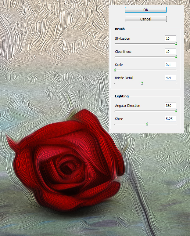 How to Mix Different Oil Painting Filters in Photoshop CS6