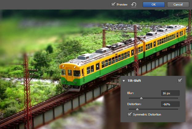 How to Create a Miniature Model Effect in Photoshop CS6