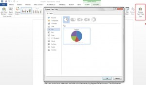 How to create Charts in Word 2013