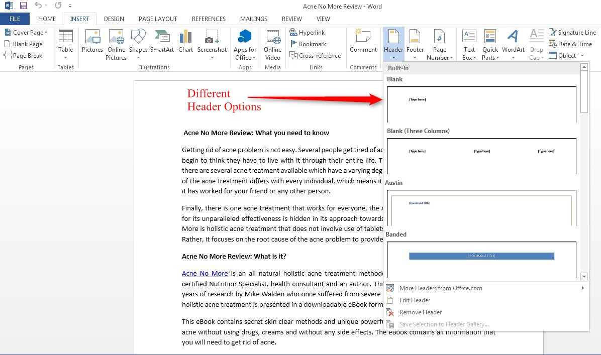 How to Insert Different Headers and Footers for Even and Odd Pages in Writer