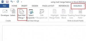 mail merge-1-1