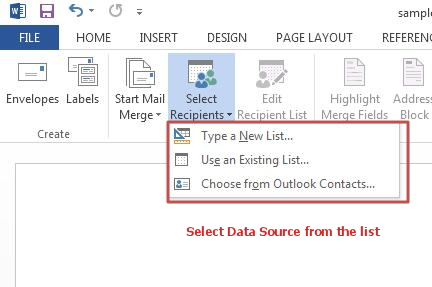 How to use Mail Merge feature in Word 2013   Tutorials Tree: Learn