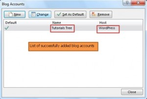 publish blog - manage blog accounts