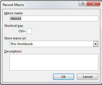 How to Record Macros in Excel 2013 5