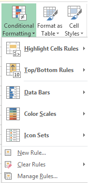 How to Use Conditional Formatting in Excel 2013 4