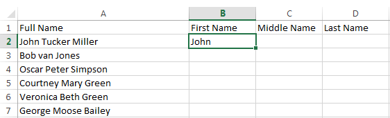 How to Use Flash Fill in Excel 2013 2