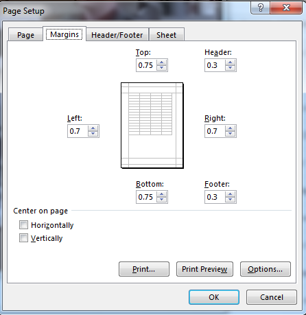 How to use the Scale-to-Fit Printing Option in Excel 2013 5