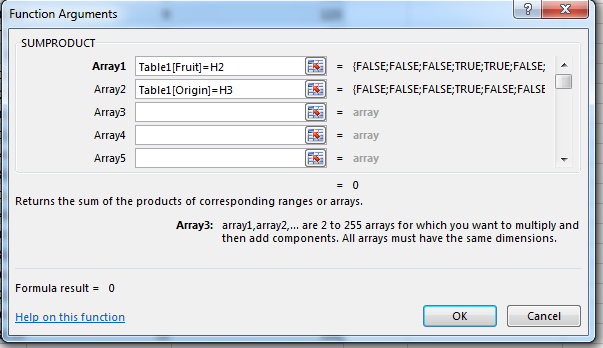How to Create Lookup Formulae with Multiple Criteria in Excel 2013 4
