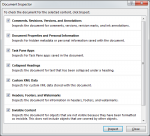 How to Use Document Inspector in Word 2013 4
