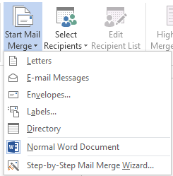 How to Use Mail Merge in Word 2013 3