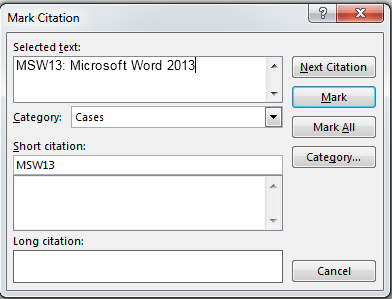 How to Create a Glossary in Word 2013 4