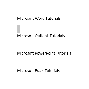 How to Add and Remove Section Breaks in Word 2013 1