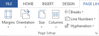 How to Add and Remove Section Breaks in Word 2013 3