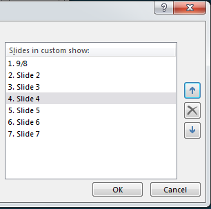 How to Create Custom Shows in PowerPoint 2013 5