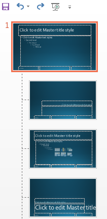 How to Customize a Slideshow Using Slide Master in PowerPoint 2013 3