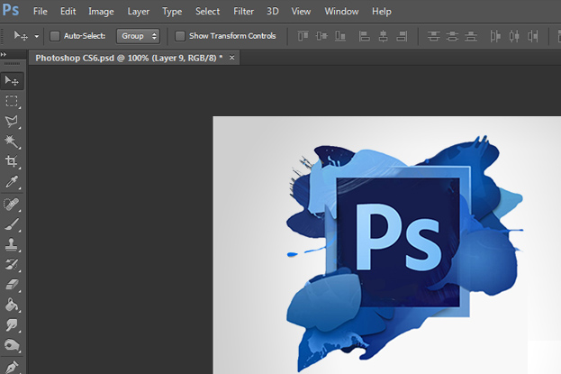 New Dark Interface in Photoshop CS6 - How to Customize It