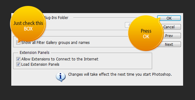New Filter Categorization in Photoshop CS6
