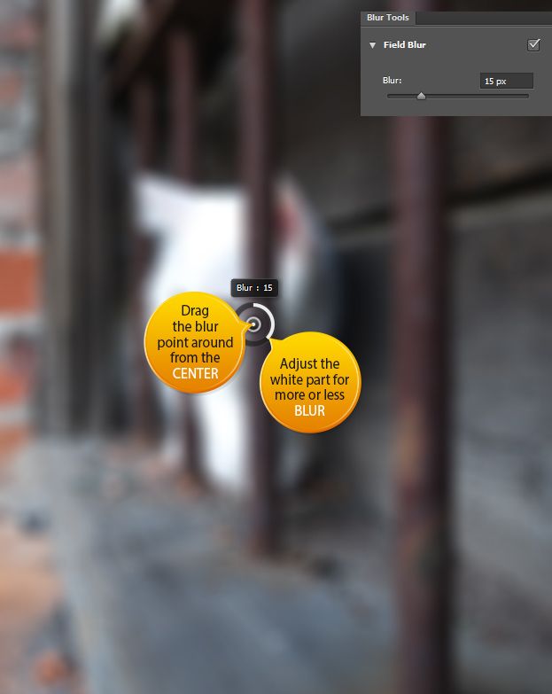 How to the new Use Field Blur feature in Photoshop CS6