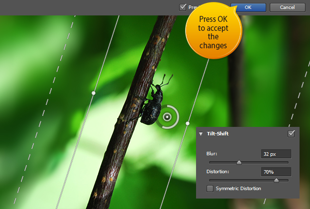 How to Use the New Tilt-Shift Blur in Photoshop CS6