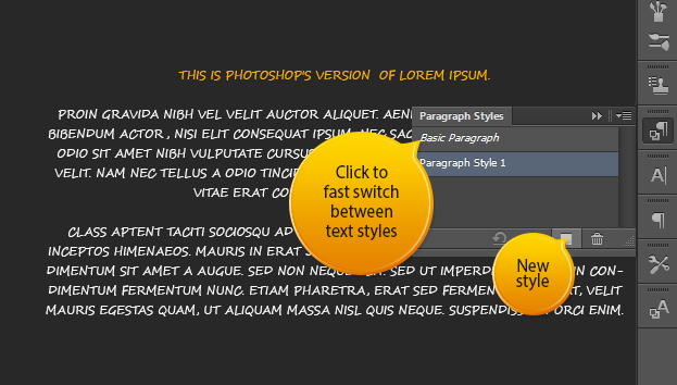 New Text Features in Photoshop CS6