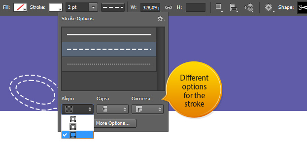 Custom Dashed and Dotted Lines - Photoshop CS6