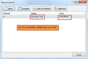 publish blog - manage blog accounts