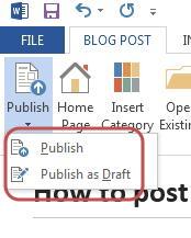publish blog - publish 2