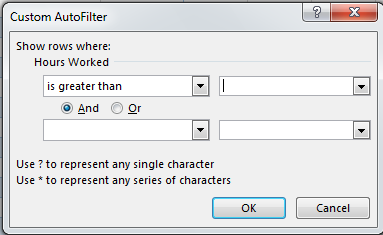 How to Filter Data in a Table in Excel 2013 6