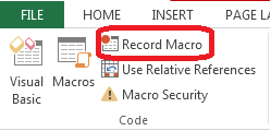 How to Record Macros in Excel 2013 4