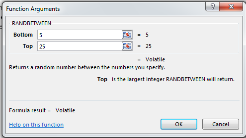 How to Create a List of Random Numbers in Excel 2013 5