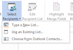 How to Use Mail Merge in Word 2013 4