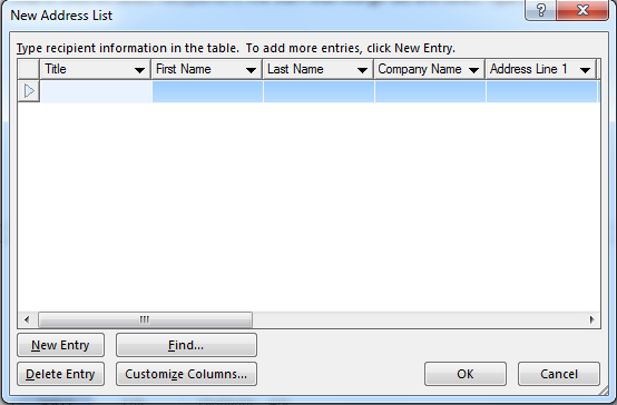 How to Use Mail Merge in Word 2013 5