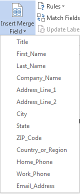 How to Use Mail Merge in Word 2013 7