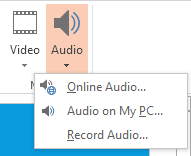 How to Add Music to a Presentation in PowerPoint 2013 2