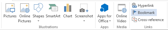 How to Add and Remove Bookmarks in Word 2013 3