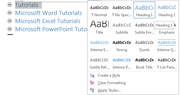 How to Create and Manage a Master Document and Subdocuments in Word 2013 4