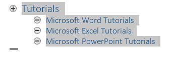 How to Create and Manage a Master Document and Subdocuments in Word 2013 5